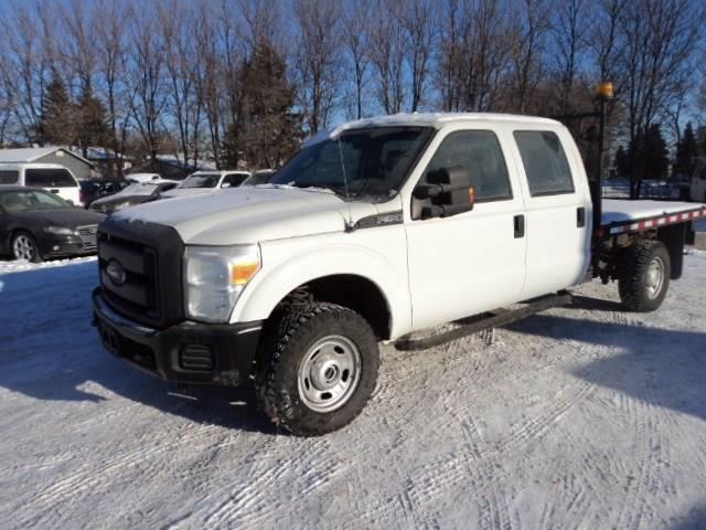 2012 Ford F-350 With flat deck 4x4 6.2 gas