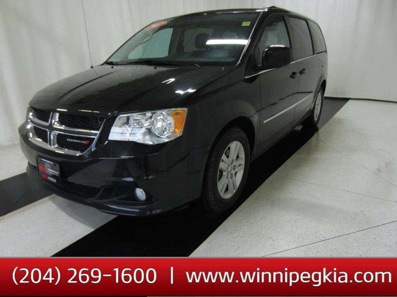 2017 Dodge Grand Caravan Crew Plus #17DG92607