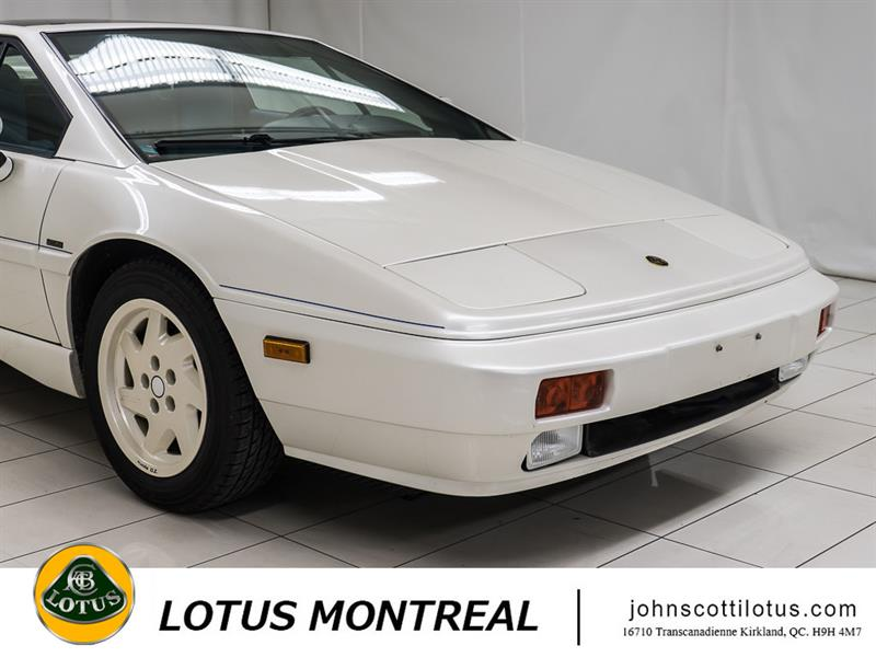 lotus esprit se turbo 1988 occasion vendre kirkland chez john scotti luxury prestige. Black Bedroom Furniture Sets. Home Design Ideas
