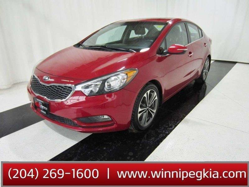 2016 Kia Forte SX AT LEATHER SUNROOF HEATED SEATS #16KF72277
