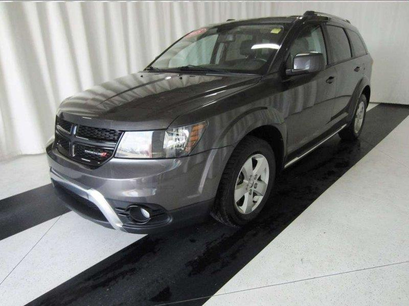 2015 Dodge Journey 7 PASS, DVD, LEATHER, SUNROOF, HEATED SEATS #15DJ66381