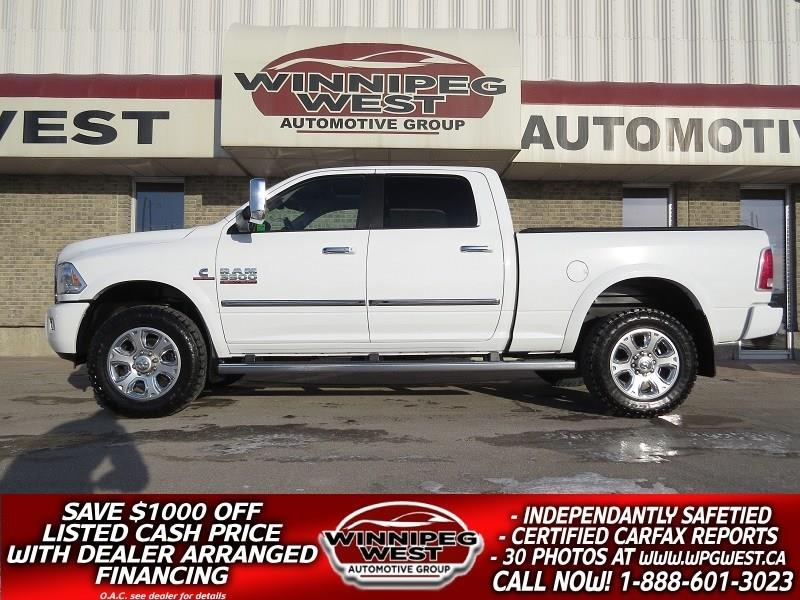 2014 Ram 3500 LIMITED EDITION CUMMINS 4X4, ALL OPTIONS, FLAWLESS #DW4865A