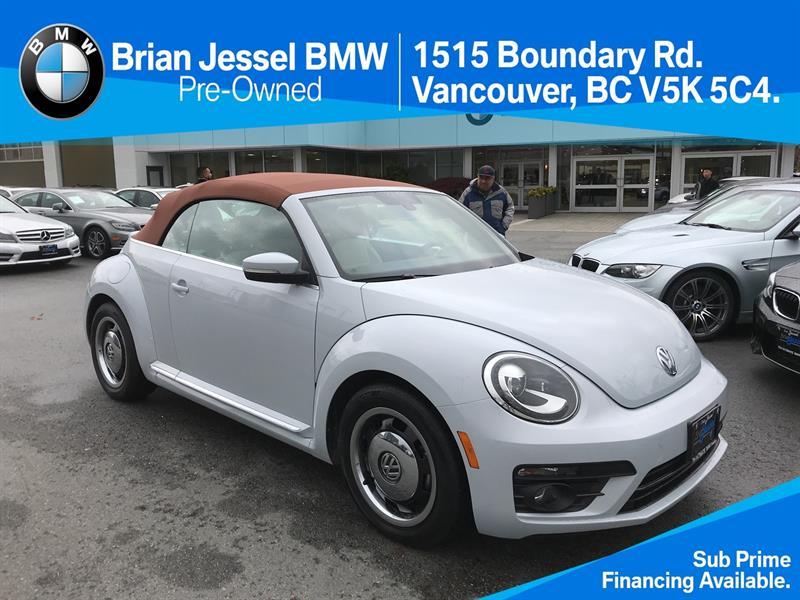 2017 Volkswagen Beetle Classic 1.8T 6sp at w/Tip #BP7420