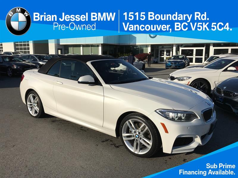 2016 BMW 2 Series 228i xDrive Cabriolet #BP7313