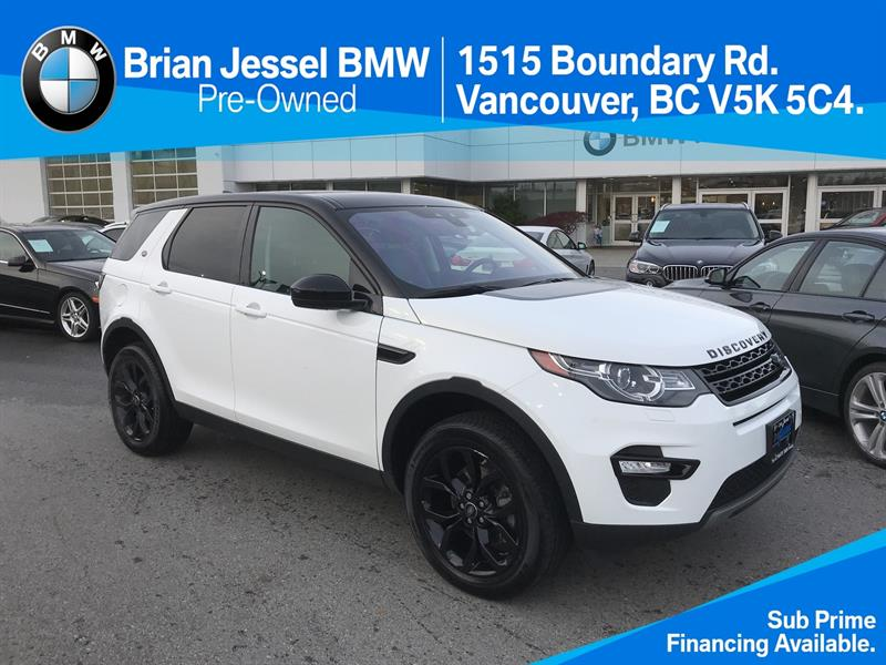 2017 Land Rover Discovery Sport HSE LUXURY #BPS022