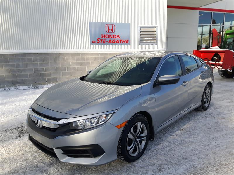 Honda Civic 2017 CVT LX * CarPlay/Android Auto, Pneus Hiver, Blueto #j085xa