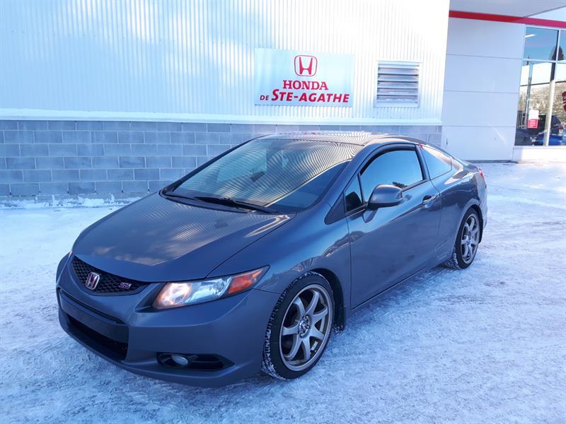 Honda Civic 2012 2dr Man Si * I-Vtec 2.4L, 200 hp, 6 vitesse, GPS.. #j445xa