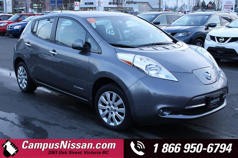 2016 Nissan Leaf   S   FWD w/ Quick-Charge #JN3096