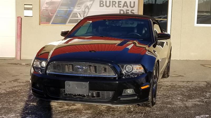 Ford Mustang GT 2013 GT, MANUELLE, CONVERTIBLE #6315