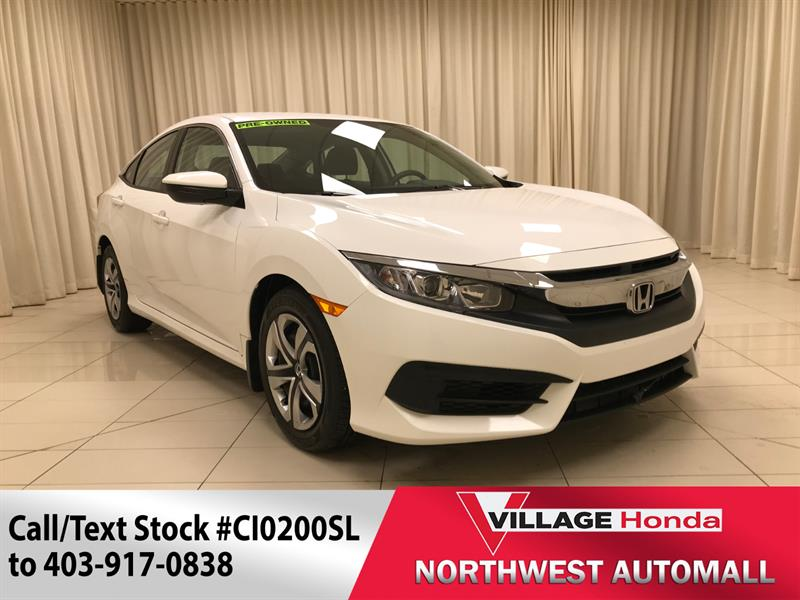 2018 Honda Civic Sedan LX #CI0200SL