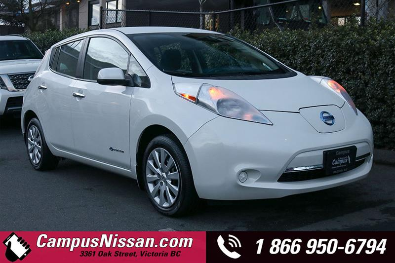 2015 Nissan Leaf   S   FWD w/ Quick-Charge #JN3087