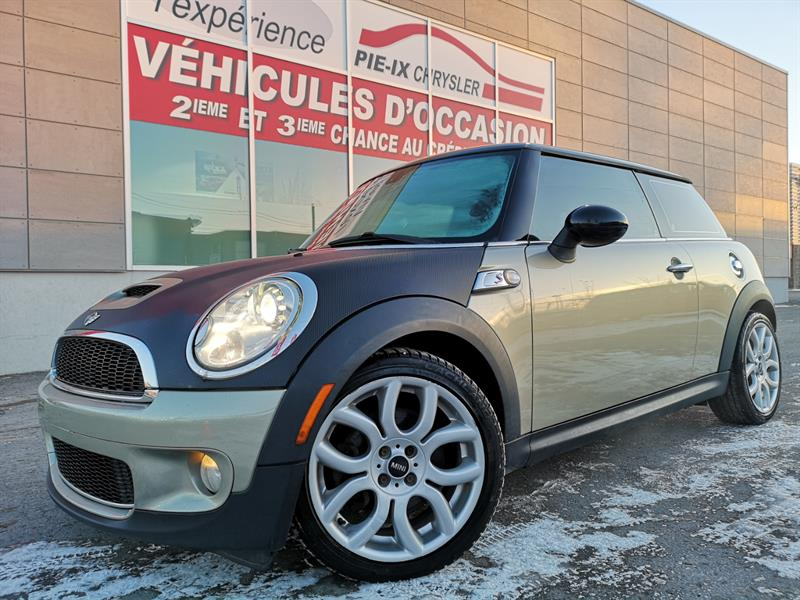 Mini Cooper Hardtop 2009 2dr Cpe S+TOIT+CUIR+MAGS+WOW! #UD4858A