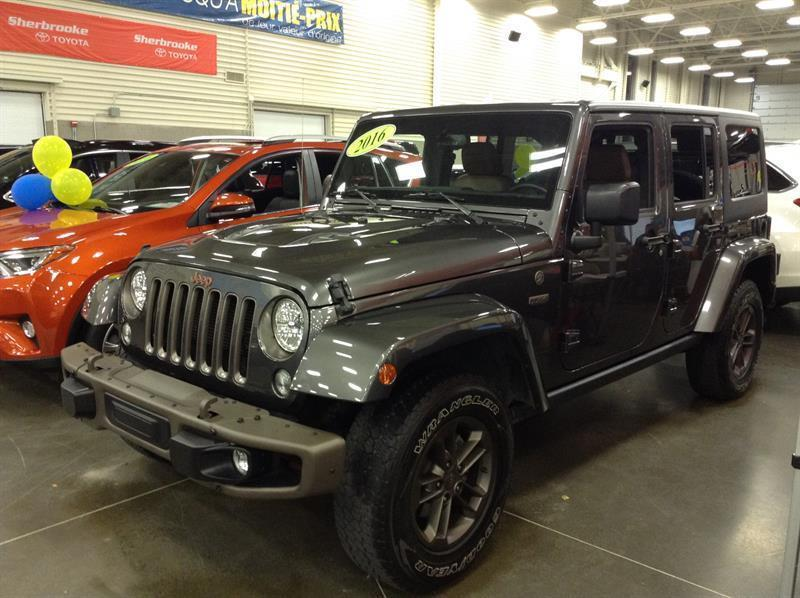 Jeep Wrangler 2016 75th #81512-1