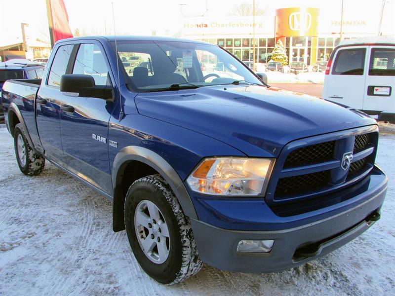 Dodge Ram 1500 2010 TRX4 4X4 QUAD CAB BOITE 6,5 PIED #UL18752A