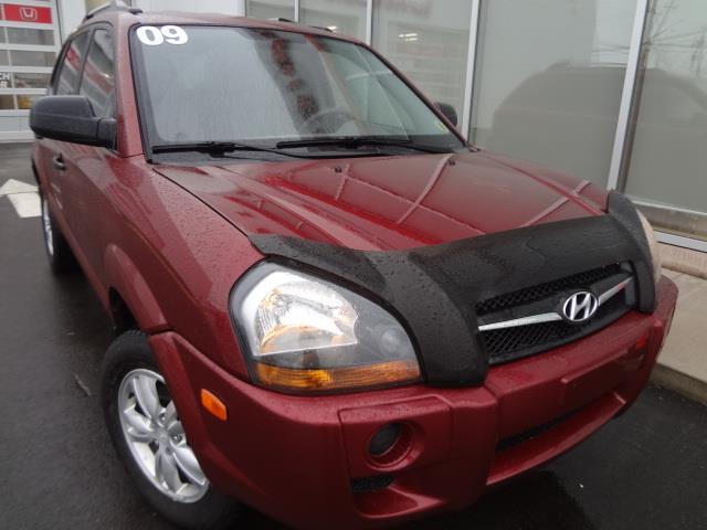 2009 Hyundai Tucson FWD 4dr I4 #J493TA