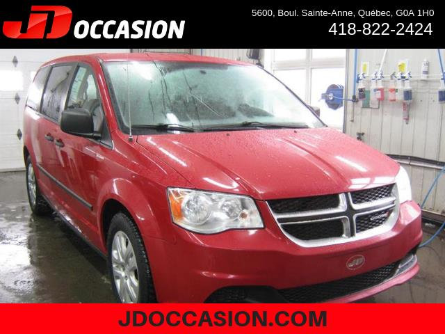 Dodge Grand Caravan 2015 4dr Wgn Canada Value Package #80426A