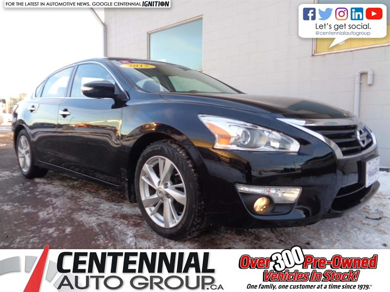 2015 Nissan Altima 2.5 SL | FWD | Leather | Heated Seats | Backup Cam #18-302A