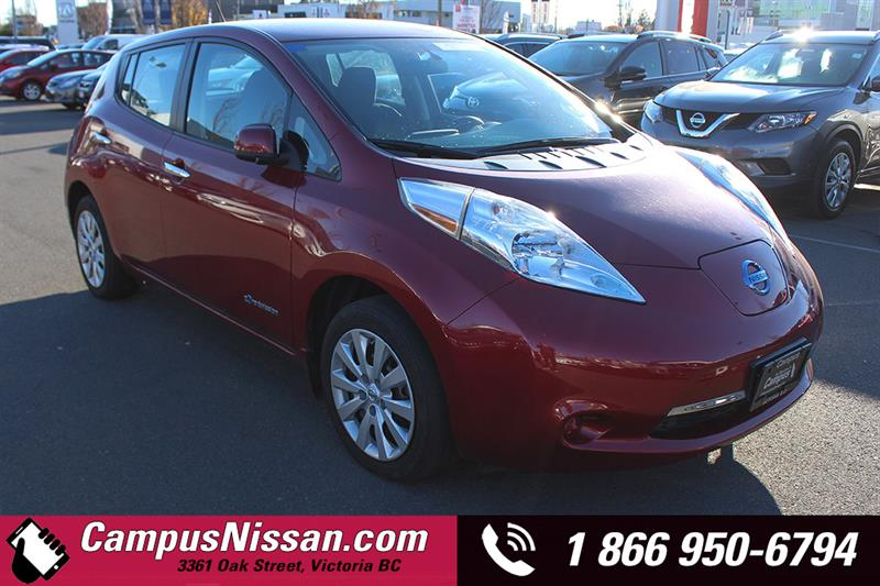 2015 Nissan Leaf   S   w/ Quick-Charge   #JN3086