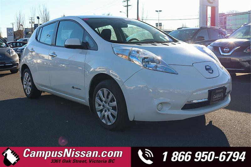 2015 Nissan Leaf | S | w/ Quick-Charge | #JN3100