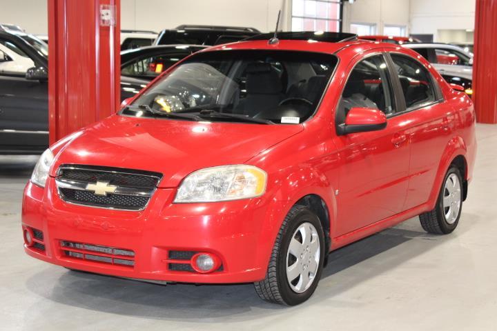 Chevrolet Aveo 2009 LT 4D Sedan #0000001345