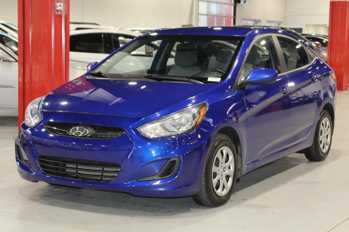 Hyundai Accent 2014 GLS 4D Sedan at #0000001391