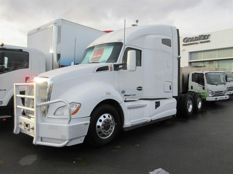2014 Kenworth T680 Highway Tractor/ Sleeper Gray #TL11282