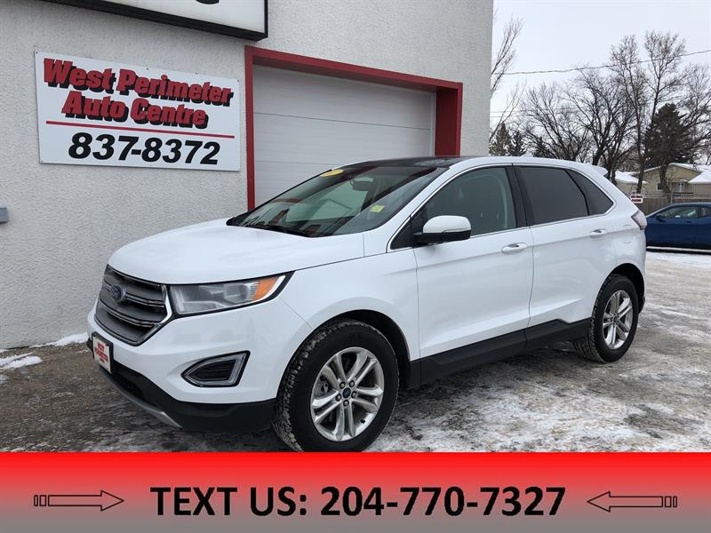 2017 Ford EDGE SEL AWD **Navigation**Panoramic Sunroof** #5237