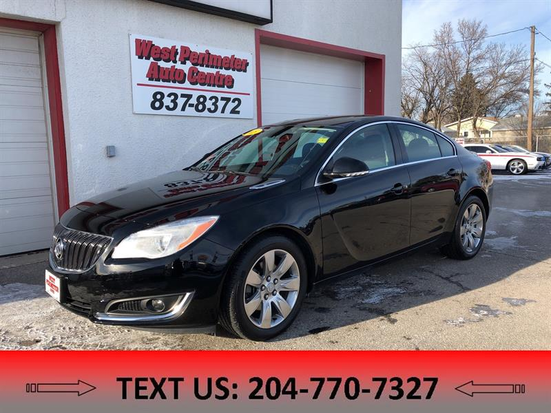 2015 Buick Regal Turbo/ AWD **Navigation, Sunroof** #5251