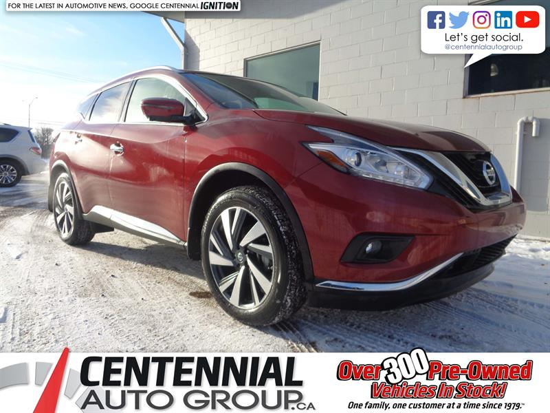 2018 Nissan Murano PLATINUM | AWD *CLEAROUT! - SAVE $7,000!* #18-025