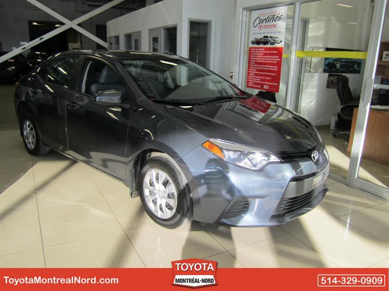 Toyota Corolla 2016 CE Aut/Ac/Vitres,Portes,Miroirs Electriques #3476 AT