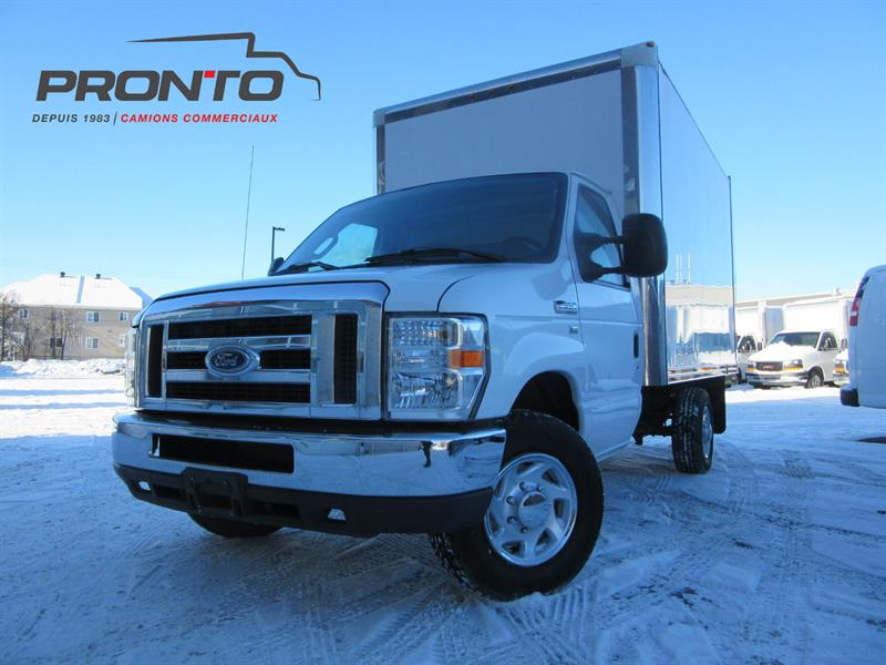 Ford Econoline Commercial Cutaway 2010 E-350 ** CUBE 12 PIEDS ** #1520