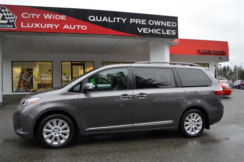 2015 Toyota Sienna Limited 7-Pass AWD (LOADED) #CWL8881M