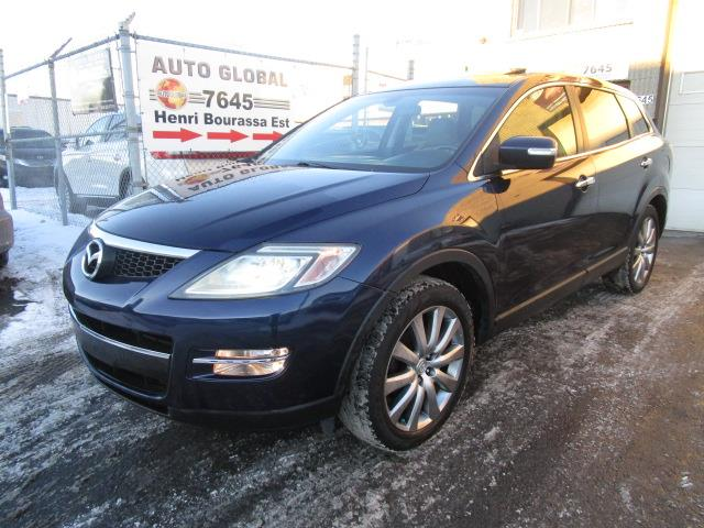 Mazda CX-9 2008 7 PASSAGERS,AWD,GT,CUIR,TOIT OUVRANT,BLUETOOTH #18-1170