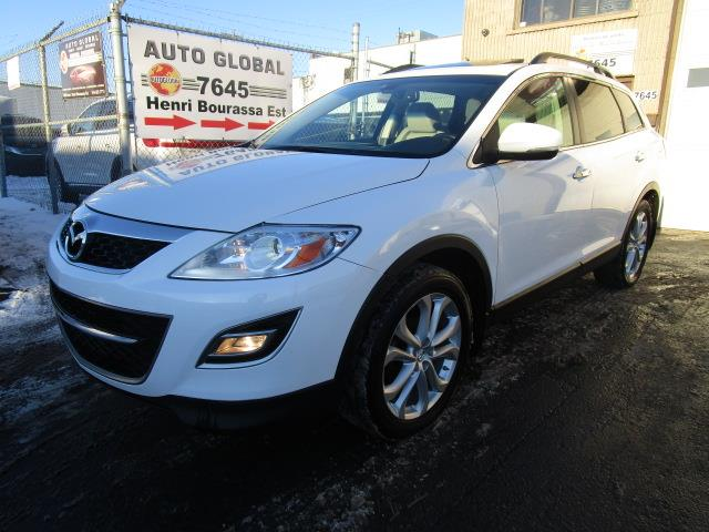 Mazda CX-9 2011 7 PASSAGERS,AWD,GT,CUIR,TOIT OUVRANT,BLUETOOTH #18-1045