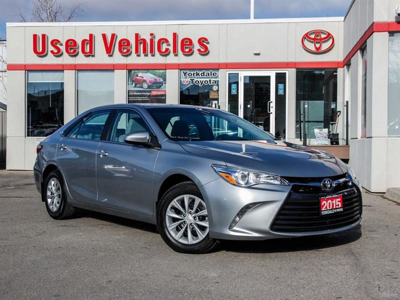 2015 Toyota Camry LE   R.Cam   B.Tooth   Keyless   Power Group #P7742
