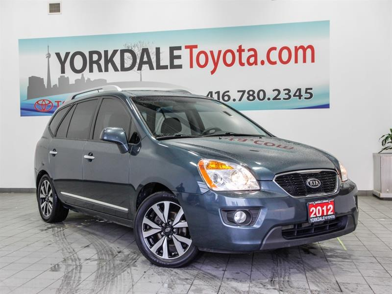 2012 Kia Rondo EX   Leather   Navi   Sunroof   7 Seats #P7537A