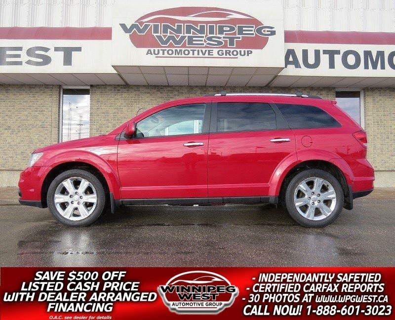 2012 Dodge Journey R/T AWD, LEATHER, NAV, BACK UP CAM, 1-OWNER! #GNW4285