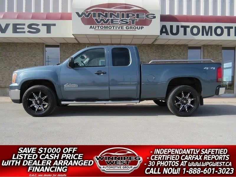 2011 GMC Sierra 1500 NEVADA EDITION V8 4X4, VERY CLEAN, HUGE VALUE! #GW4325