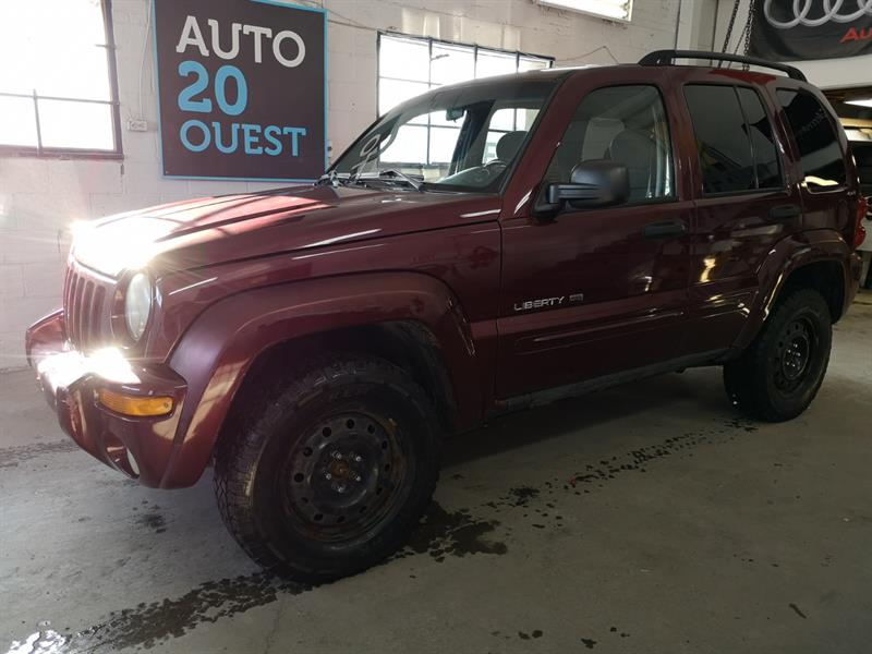 Jeep Liberty 2002 4dr Limited 4WD #A-18105