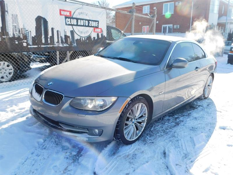 2011 BMW 3 Series CABRIOLET 335i BI-TURBO TRACTION ARRIÈRE #BE580796