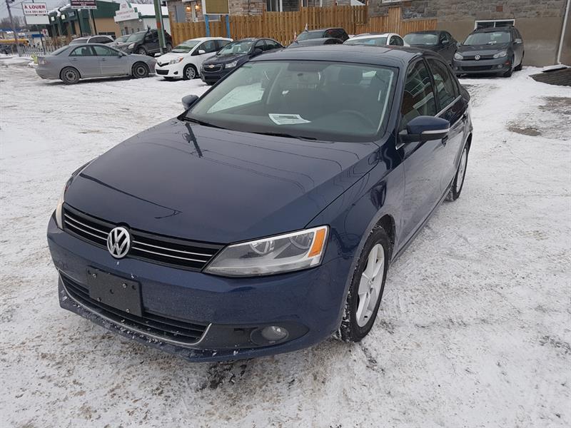 Volkswagen Jetta Sedan 2014 2.0L TDI Comfortline TOIT + Bluetooth *43$ / SEM* #499