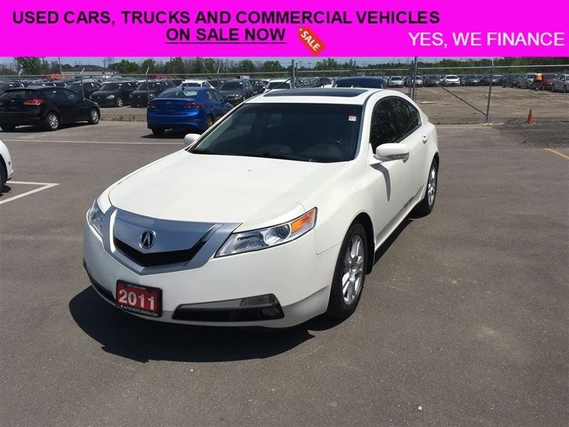 2011 Acura TL Fully Loaded With All The Options!! #018109