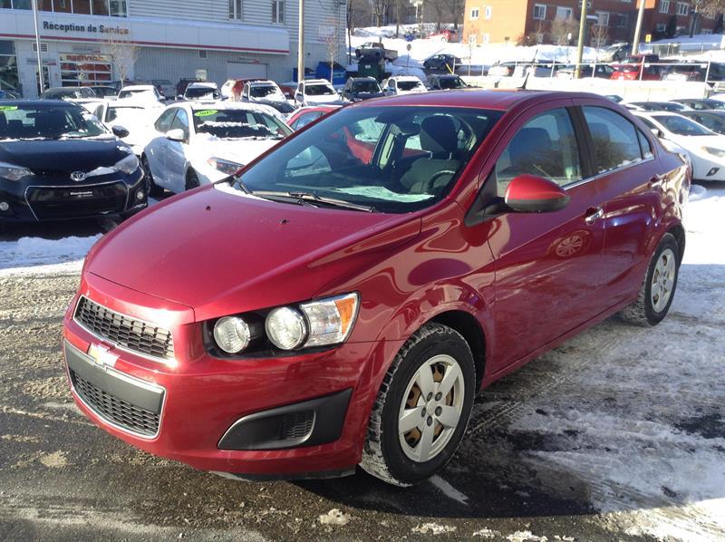 Chevrolet Sonic 2013 LT #81232-1