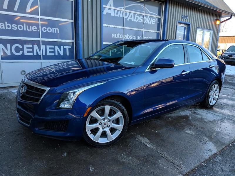 Cadillac ATS 2013 2.0T + Pneus d'hiver #E0112