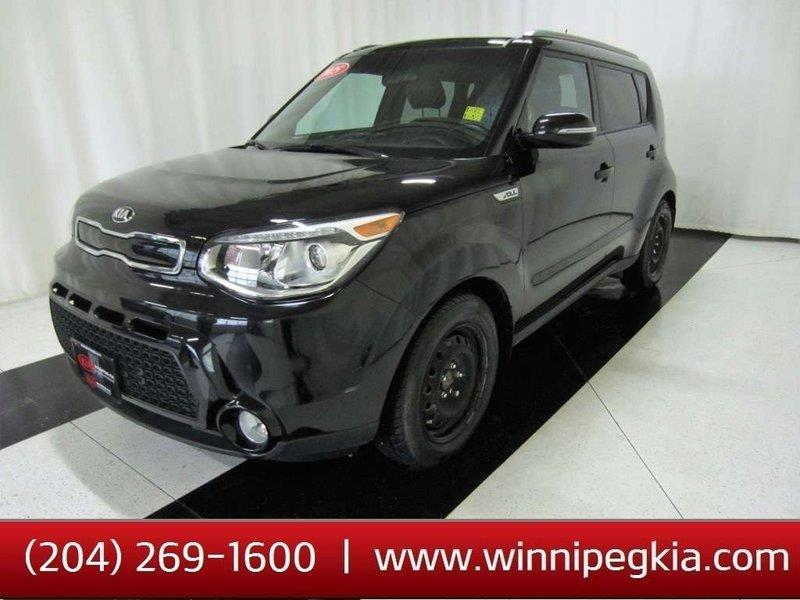 2015 Kia Soul SX Luxury *Loaded/Always Owned In Manitoba!* #19SP096A