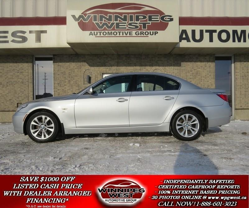 2009 BMW 5 Series 535i xDrive TWIN TURBO, ALL WHEEL DRIVE, BLUETOOTH #W3696