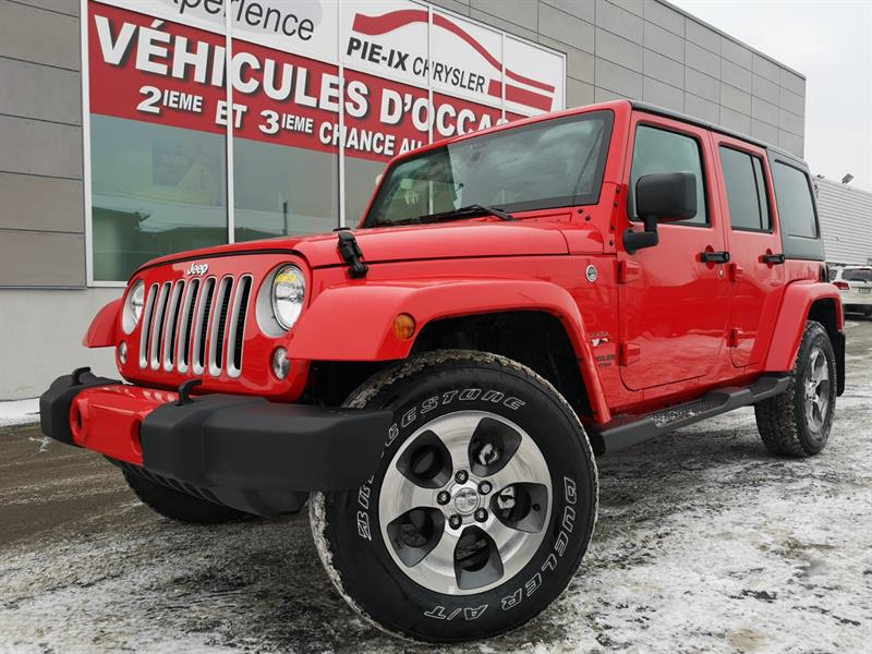 Jeep Wrangler Unlimited 2017 4WD 4dr Sahara+NAV+MAGS+VEHICULE NEUF! #C17732