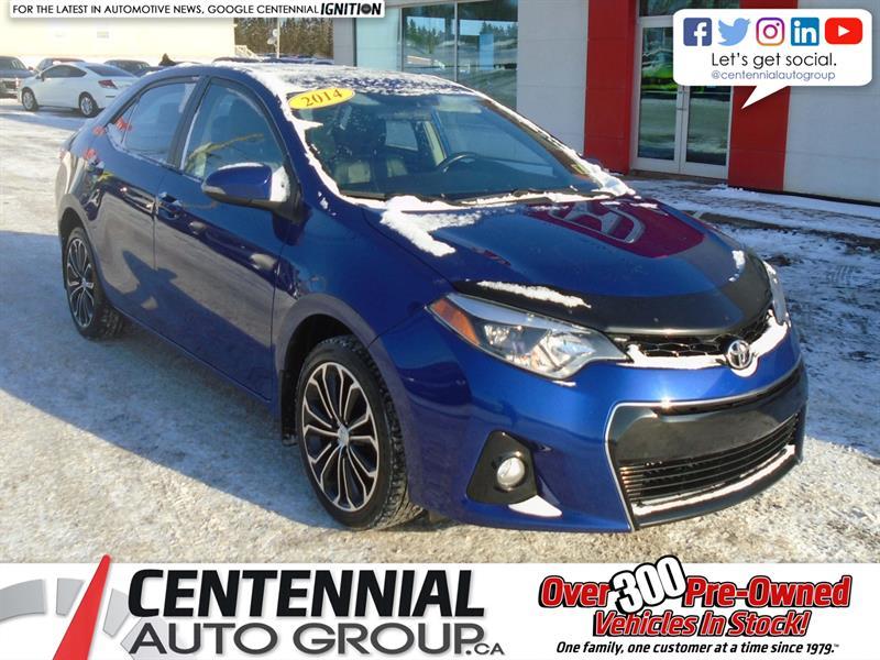 2014 Toyota Corolla S | FWD |  #U1832