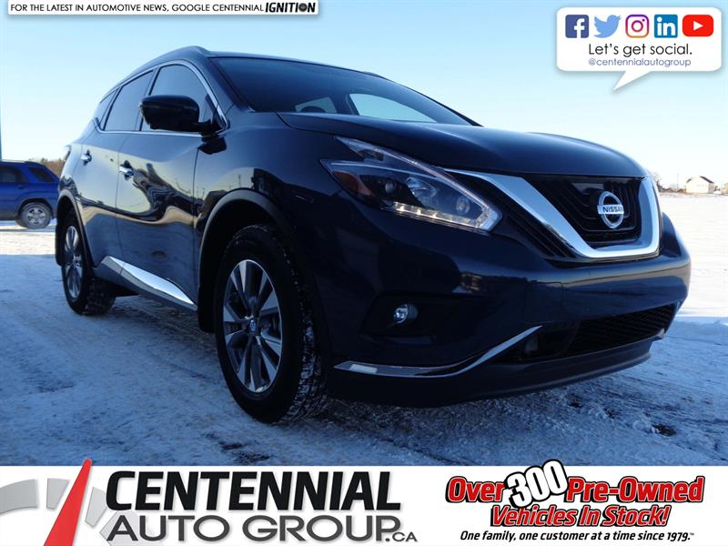 2018 Nissan Murano SL | NEW | CLEAROUT | SAVE $6500 |  #S18-215