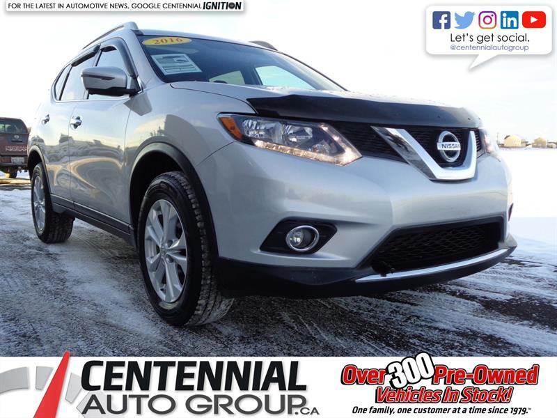2016 Nissan Rogue SV | AWD | CVT | Bluetooth | Backup Camera | #SP18-042